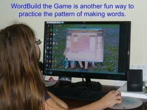 WordBuild the Game in use