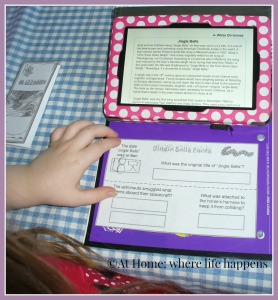working on a lapbook