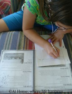 E working with study guide