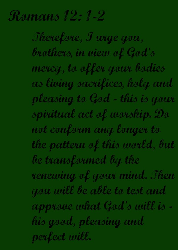 Romans 121-2