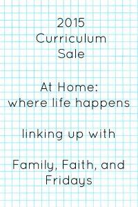 curriculum sale