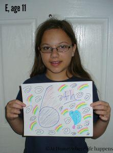 E, age 11