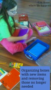 First Day Traditions - Boxes