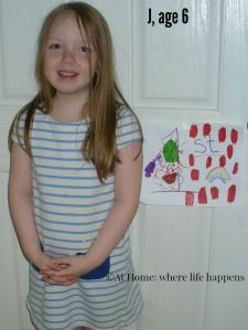 J, age 6
