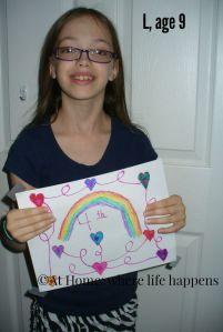 L, age 9