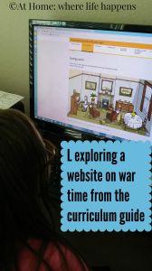 exploring a website