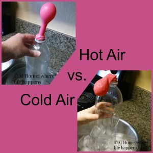 Hot Air vs. Cold Air