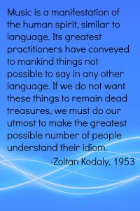 Kodaly quote