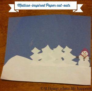 L's paper cut-out