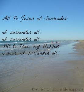 All To Jesus I Surrender