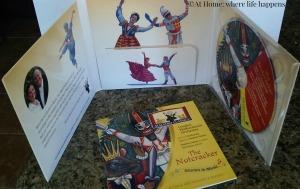 CD, inside cover, pamphlet