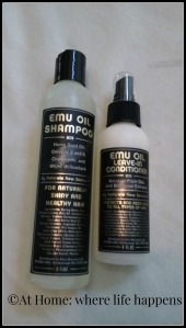 Emu oil shampoo and cond.