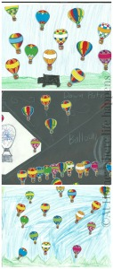 balloon landscapes