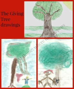 Giving Tree drawings