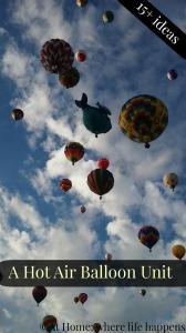 Hot Air Balloon Unit