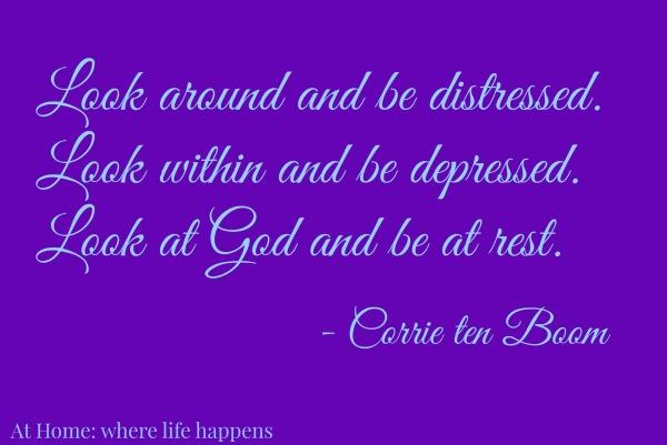 Look at God - Corrie ten Boom