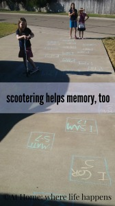 memory work scootering