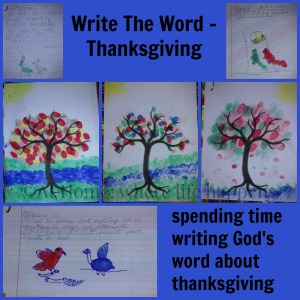 Write The Word - Thanksgiving