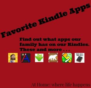 Favorite Kindle Apps