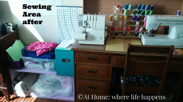 Sewing Area after 2