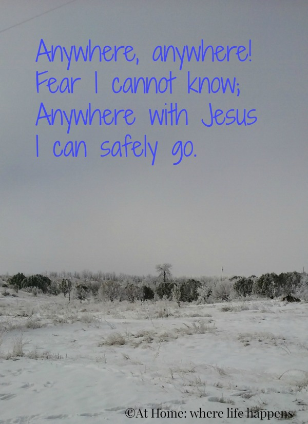 Anywhere With Jesus