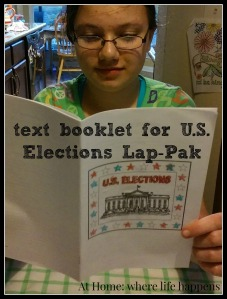 U.S. Elections text booklet