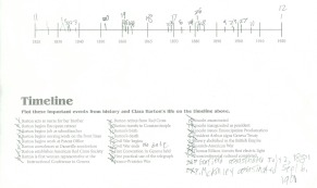 Clara timelines - L's