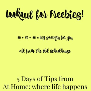 Lookout for Freebies