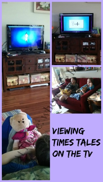 viewing on TV