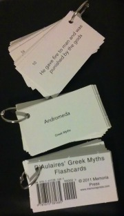 myths flashcards