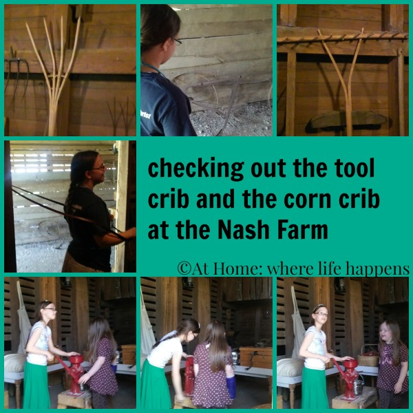 Nash - corn and tool cribs