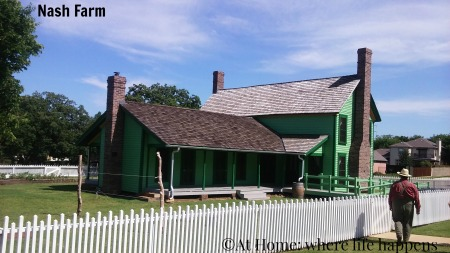 Nash Farm house back