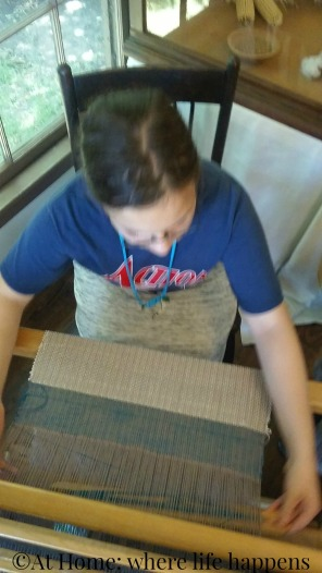 Nash - loom weaving