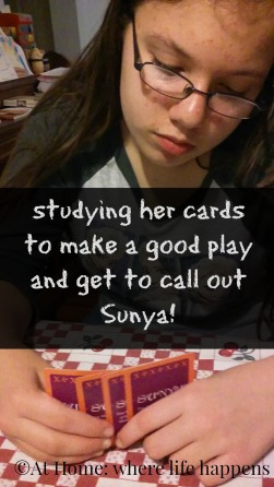 studying Sunya cards
