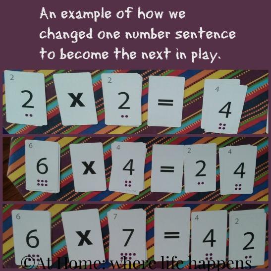 Sunya number sentences
