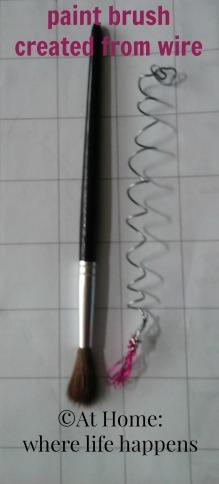 wire paint brush