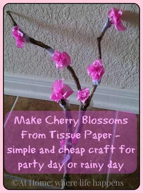 cherry blossoms - how to make