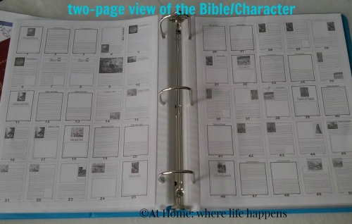two page view Bible