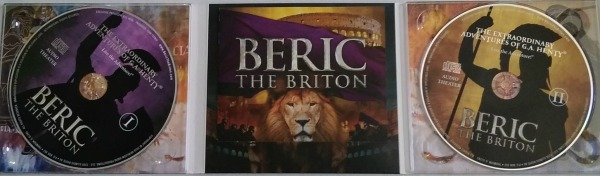 Beric the Briton inside CDs