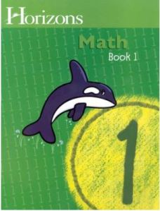 Horizons math cover