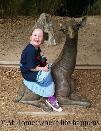 baby giraffe statue - her favorite
