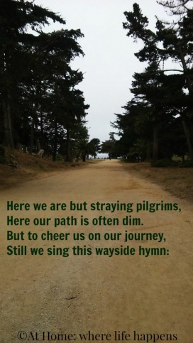 Here We Are But Straying Pilgrims