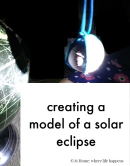 solar eclipse model