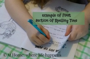 spelling-time-writing