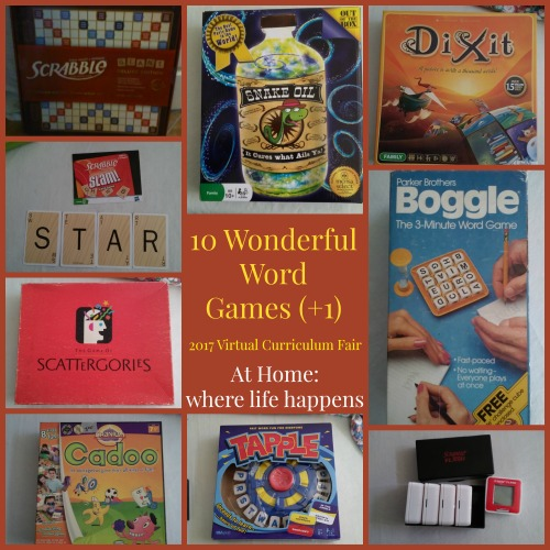 10 Wonderful Word Games +1
