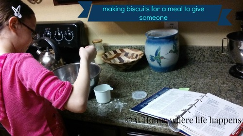 making-biscuits