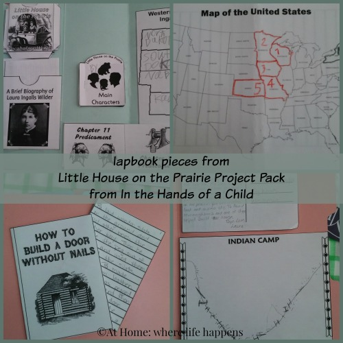 lapbook-pieces-little-house
