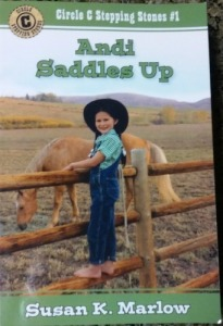 Andi Saddles Up
