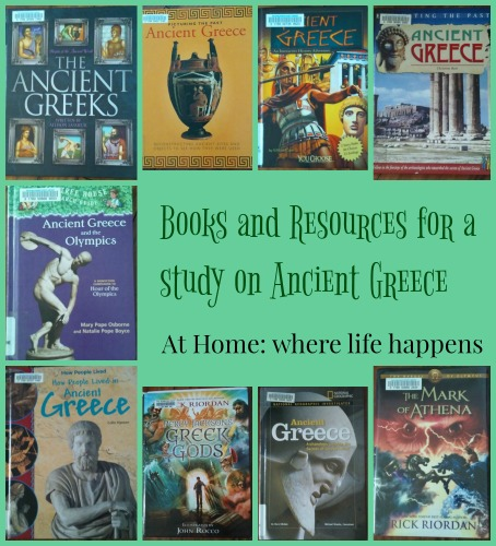 Books and Resources for a study on Ancient Greece