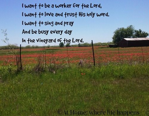 I Want To Be A Worker For The Lord